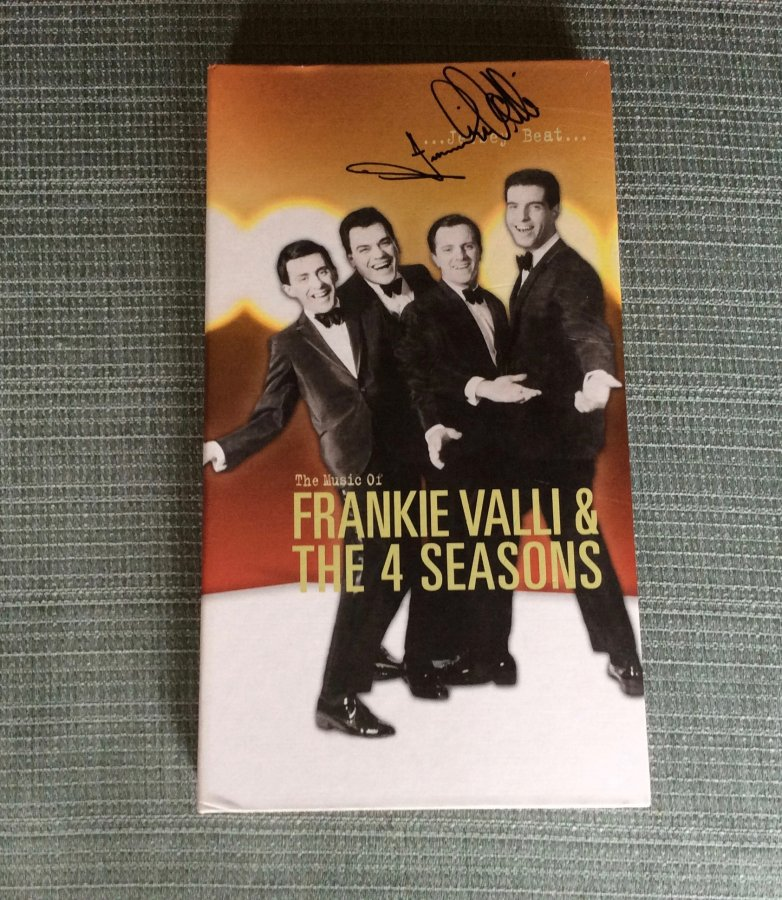 What's 'Jersey Beat Boxed Set signed by frankie valli' Worth? Picture