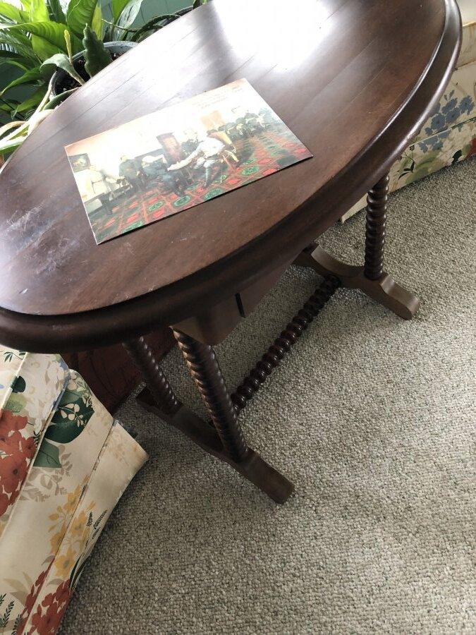 'The civil war surrender table' Picture
