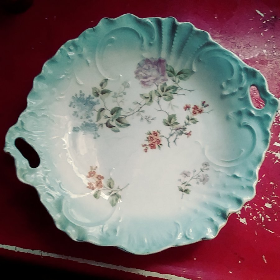 What's 'C.T. Germany scalloped,handled Bowl' Worth? Picture
