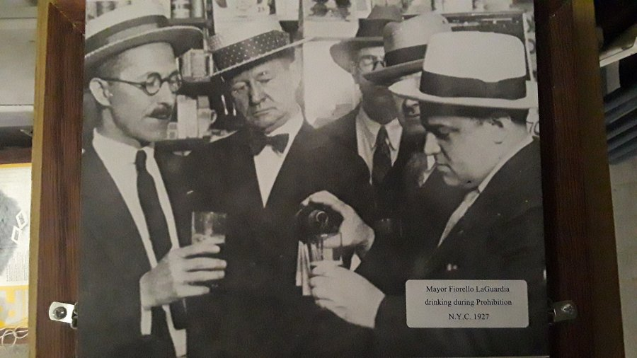 What's 'Photo of mayor laguardia drinking during prohibition' Worth? Picture