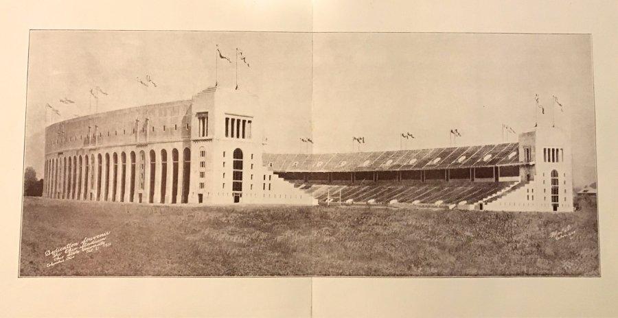 dedication souvenir the ohio stadium oct 21 1922 Picture