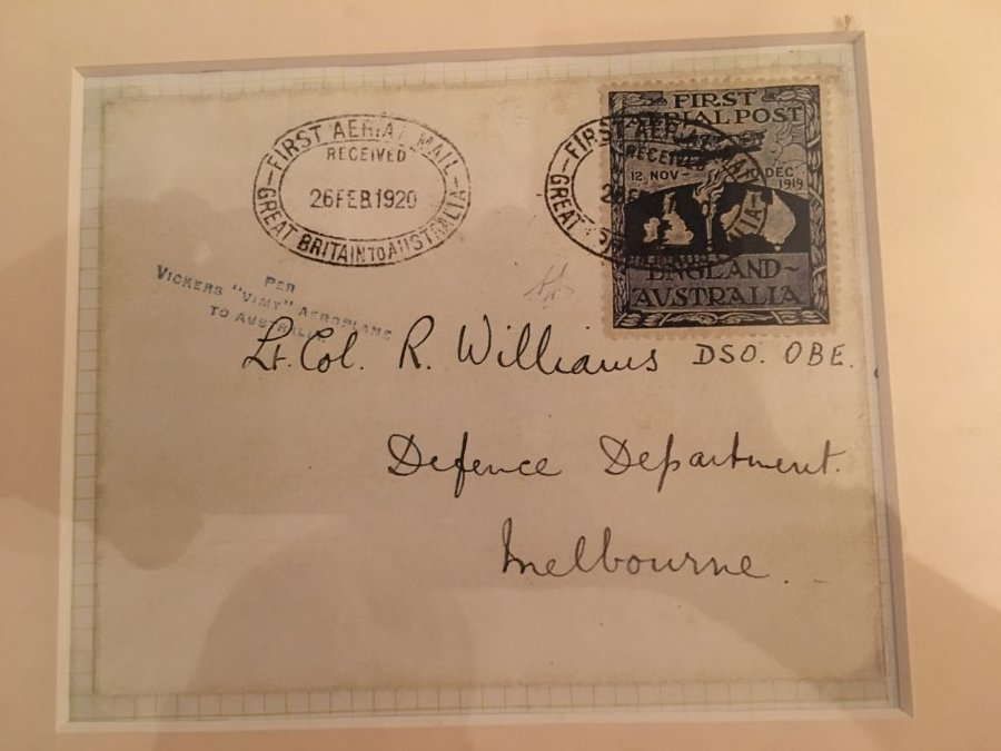 What's '1920 first aerial mail Vimy aeroplanes ' Worth? review Collectibles / Collectables