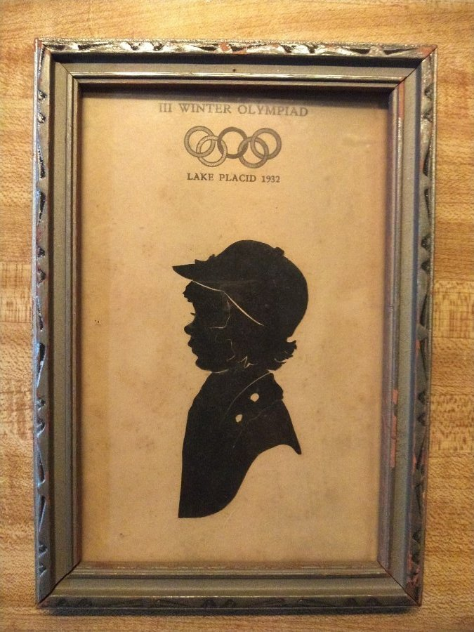 What's '1932 winter olympiad 3X5 pic and frame' Worth? Picture
