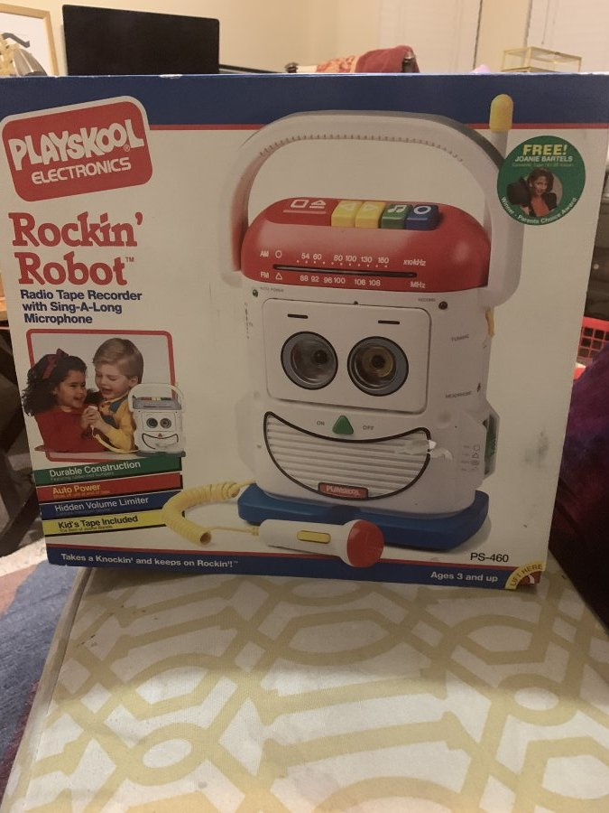 What's 'Playskool rocking robot ' Worth? Picture